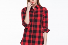 women-long-check-shirt