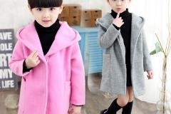 Girls-kids-knitted-hoodie-overcoat