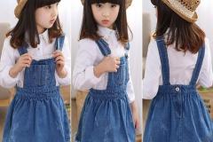 Girls-kids-fashion-denim-jeans-dress