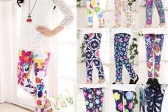 Girls-kids-printed-fashion-leggings