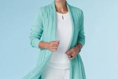 Women-knitted-long-cardigan