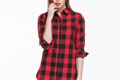 women-long-check-shirt