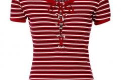 women-chek-short-sleeve-t-shirt